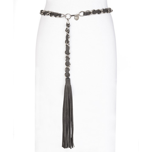 Emilia leather chain