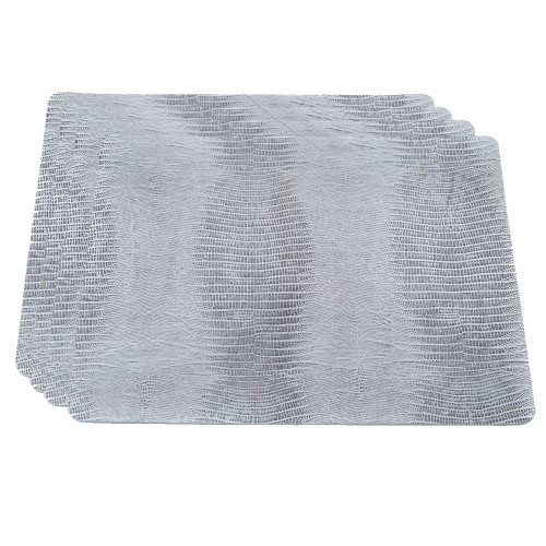 Silver Tejus Placemats
