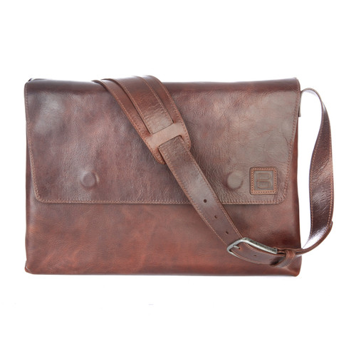 Leith Leather Messenger Bag
