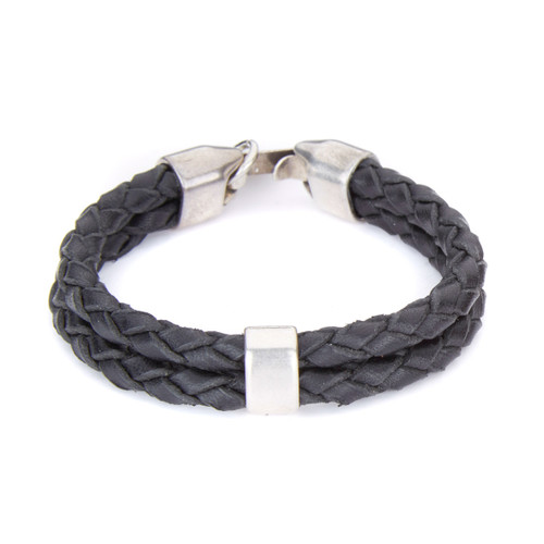Wils double strand braided cuff