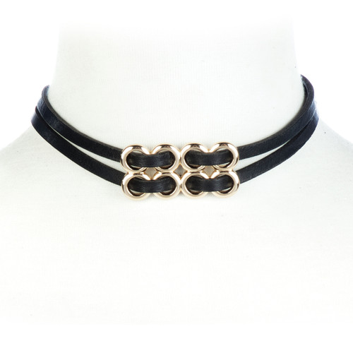 Urte Choker in gold