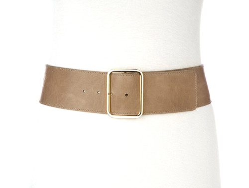 Lani Nappa Leather Belt for Women in Dusk