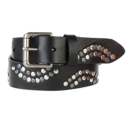 Ferio Studded Belt in Black