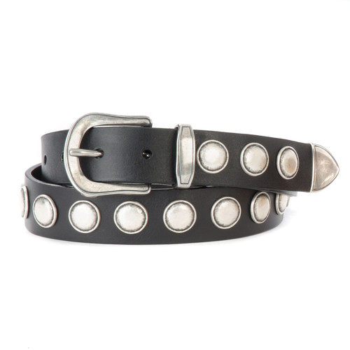 Sezim Studded Belt in Black