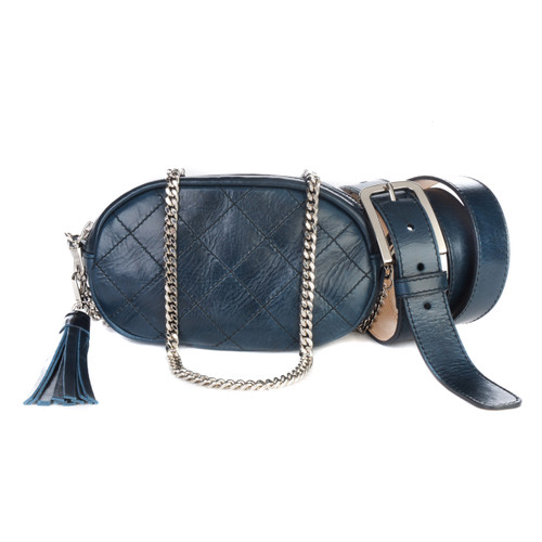 Women's Venice 3-in-1 Leather Bag/Belt in Nautica