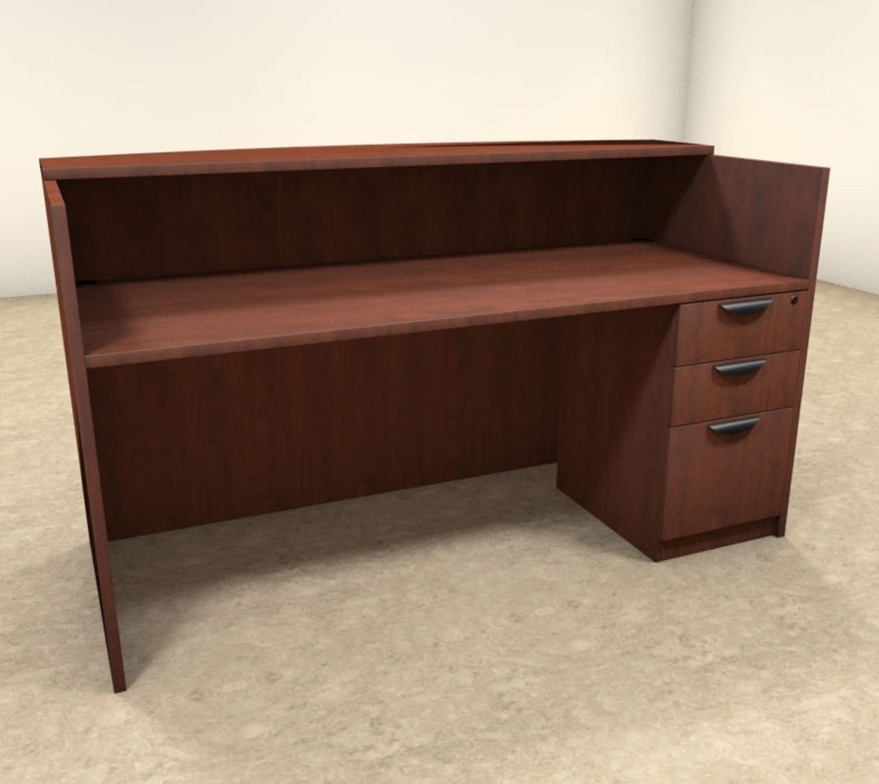 2pc Rectangular Modern Office Reception Desk Set, #OT-SUL-R2
