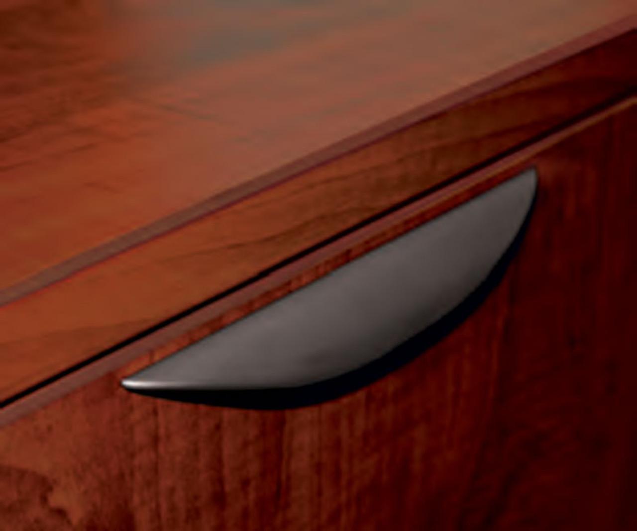 3pc L Shaped Modern Acrylic Panel Office Reception Desk, #OT-SUL-R23