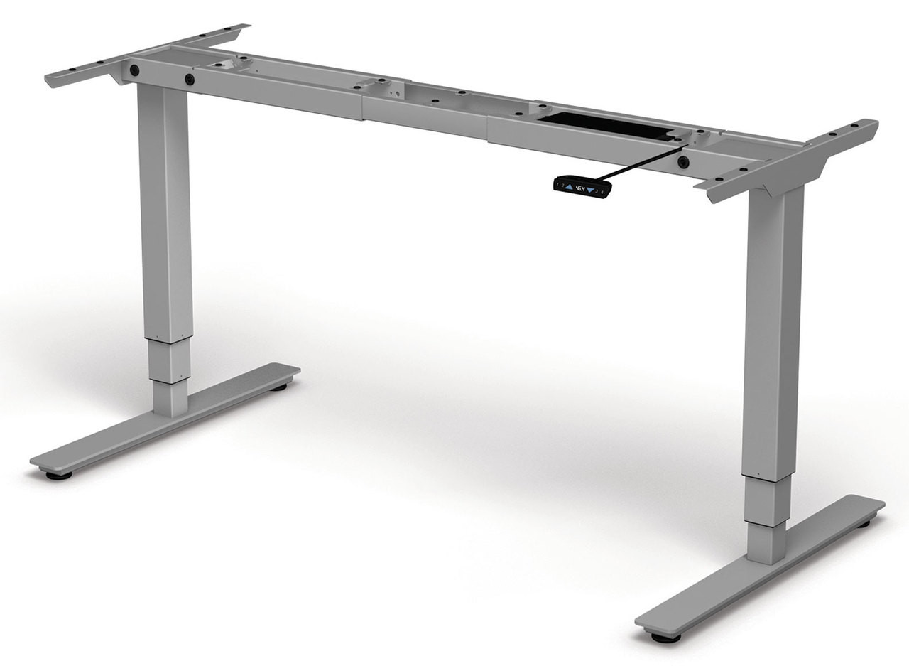 Four Persons Modern Power Adjustable Divider Workstation, #OF-CON-HP21