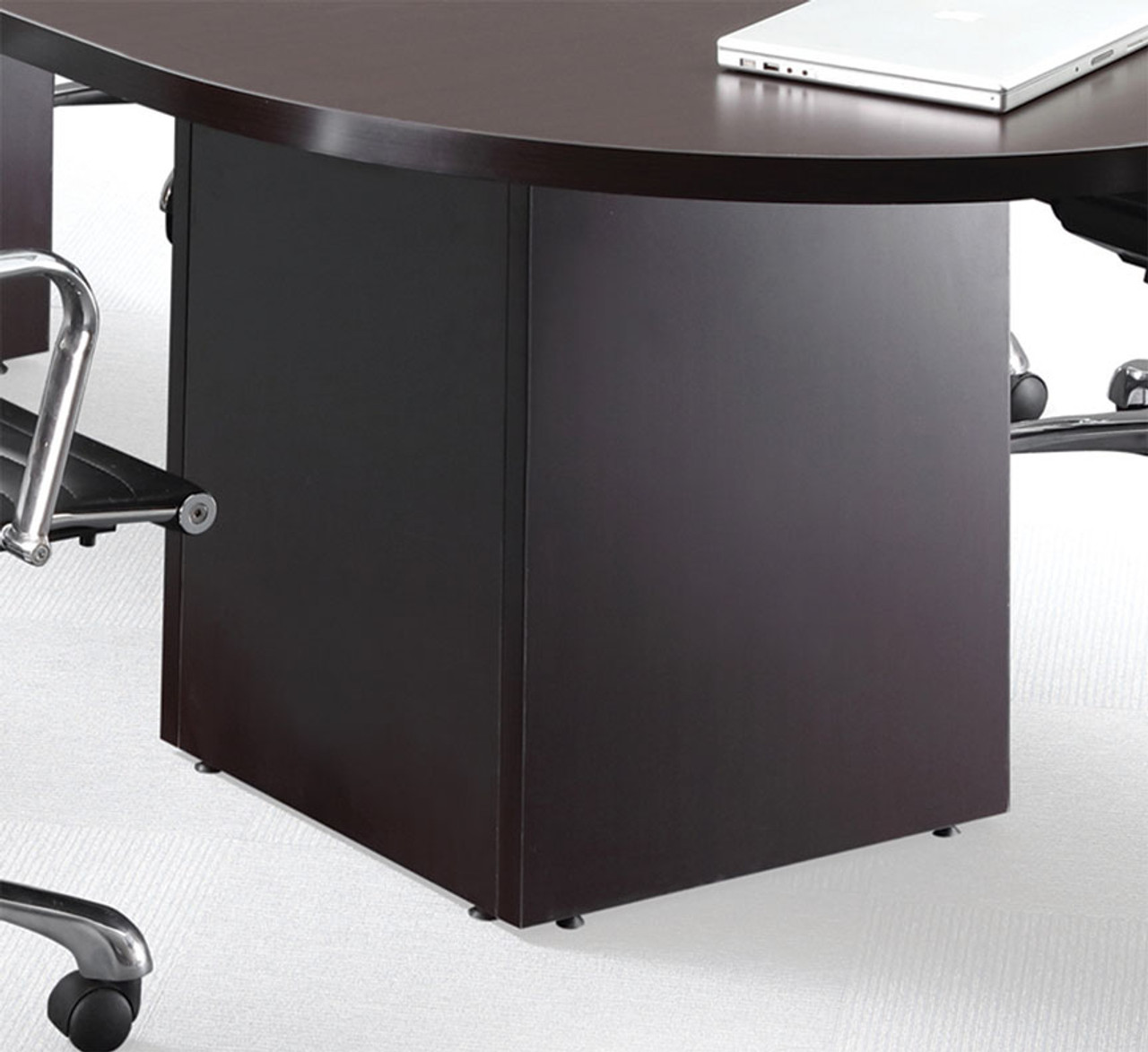 Boat Shape Counter Height 18' Feet Conference Table, #OF-CON-CT26