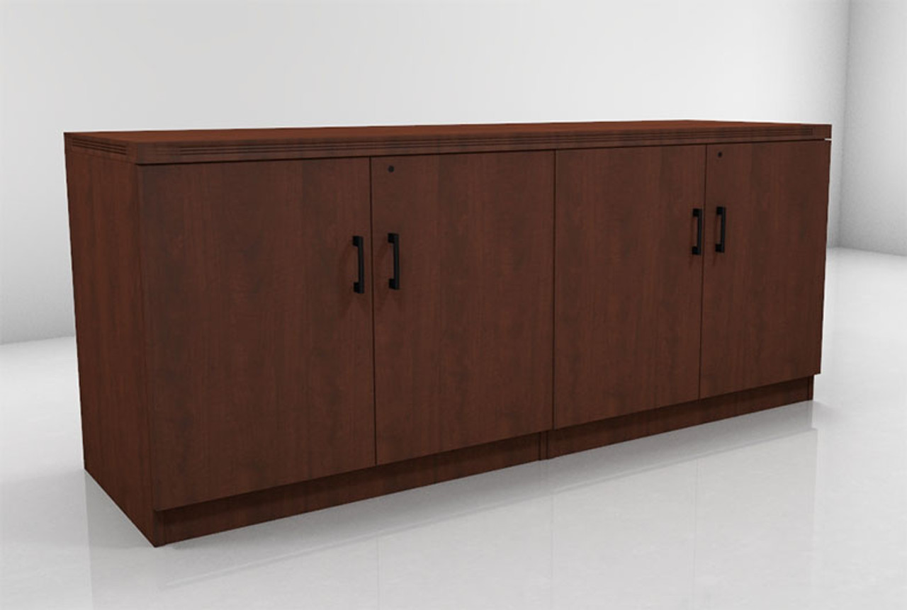 4 Doors Low Wall Cabinet, #CH-AMB-CAB8