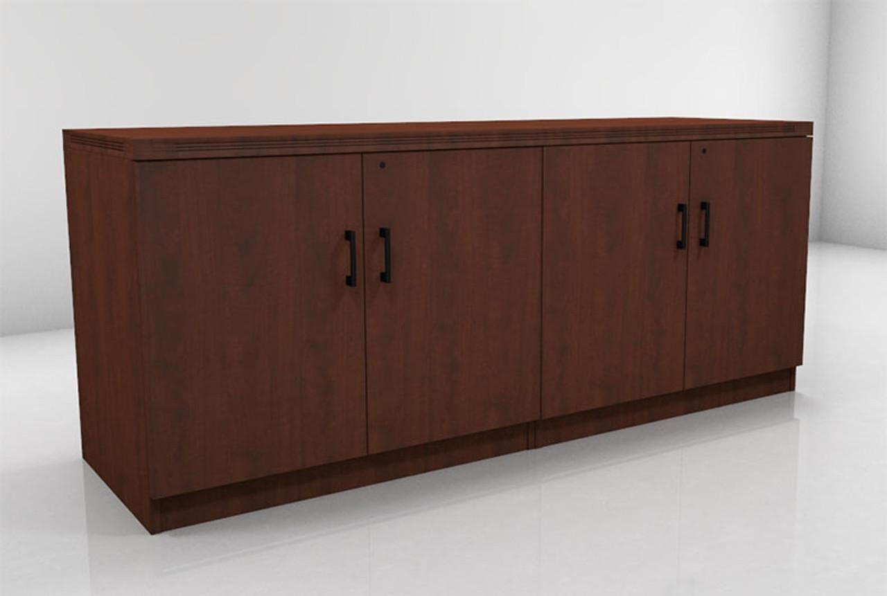 4 doors low wall cabinet ch amb cab8 h2o furniture. Black Bedroom Furniture Sets. Home Design Ideas