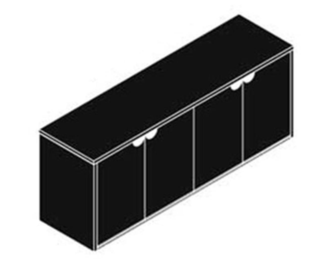 4 Doors Low Wall Cabinet, #CH-JAD-CAB4