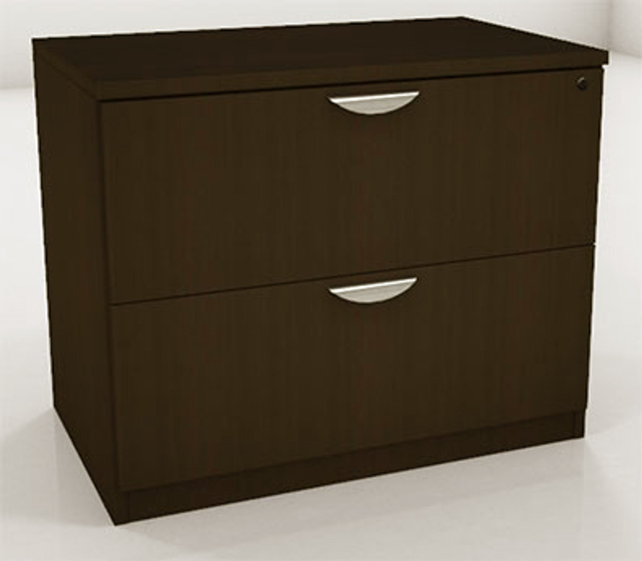 2 Drawers Lateral File Cabinet, #OT-SUL-CAB1