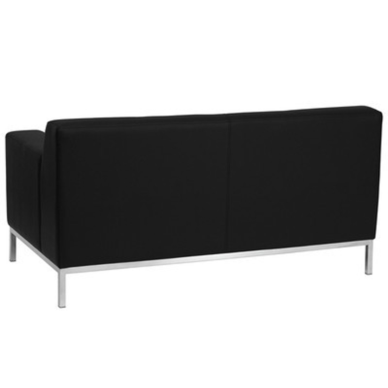 1pc Modern Leather Office Reception Loveseat, FF-0443-12
