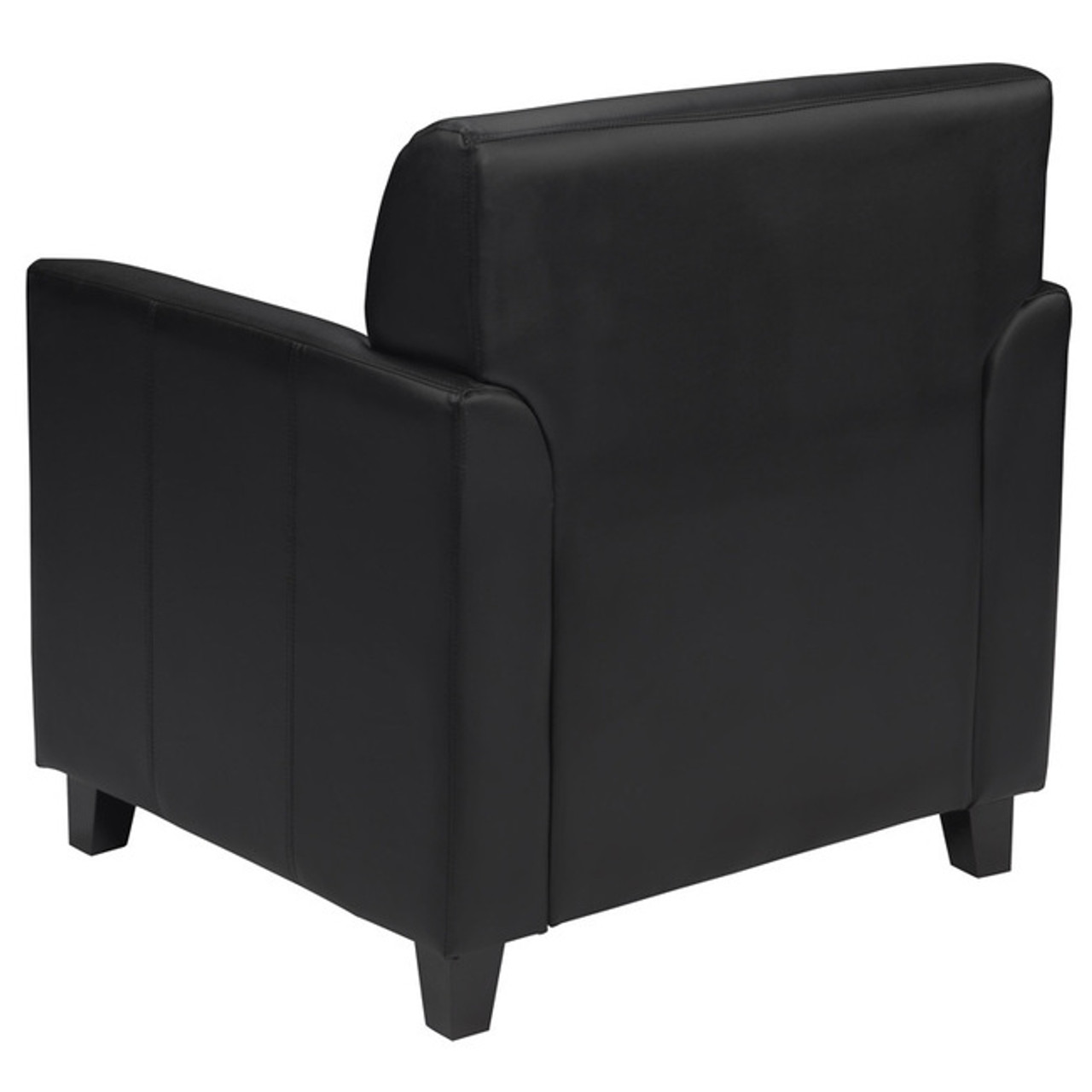 1pc Modern Leather Office Reception Chair, FF-0551-13