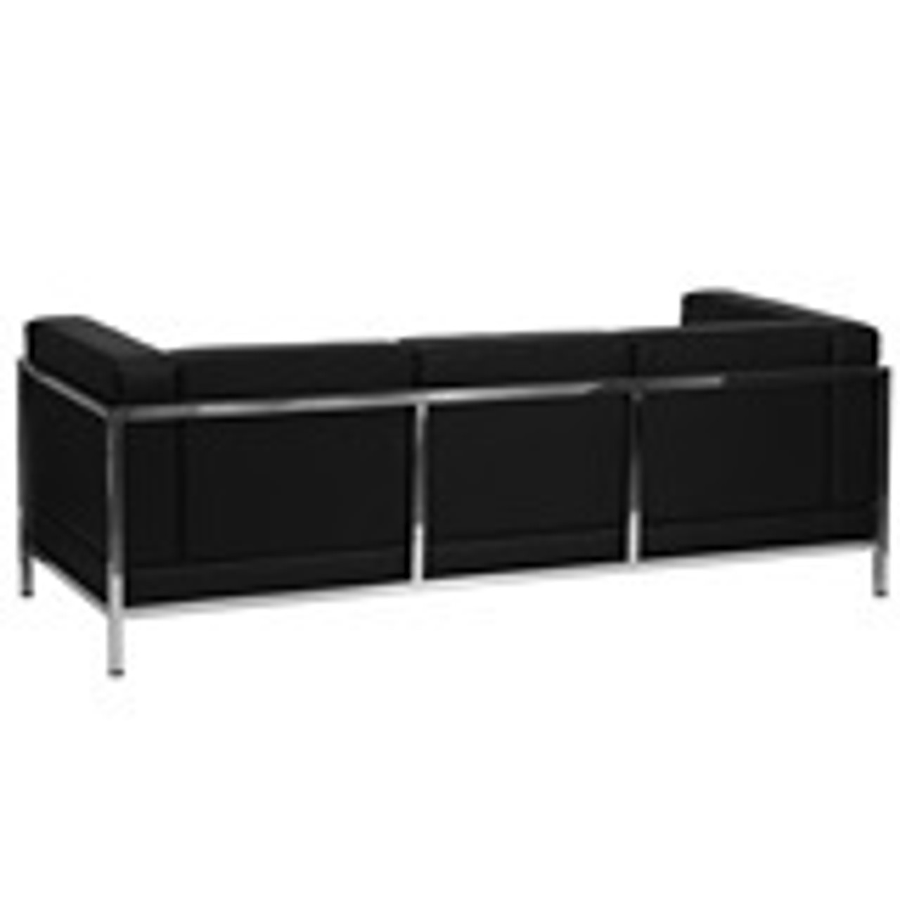 1pc Modern Leather Office Reception Sofa, FF-0434-12