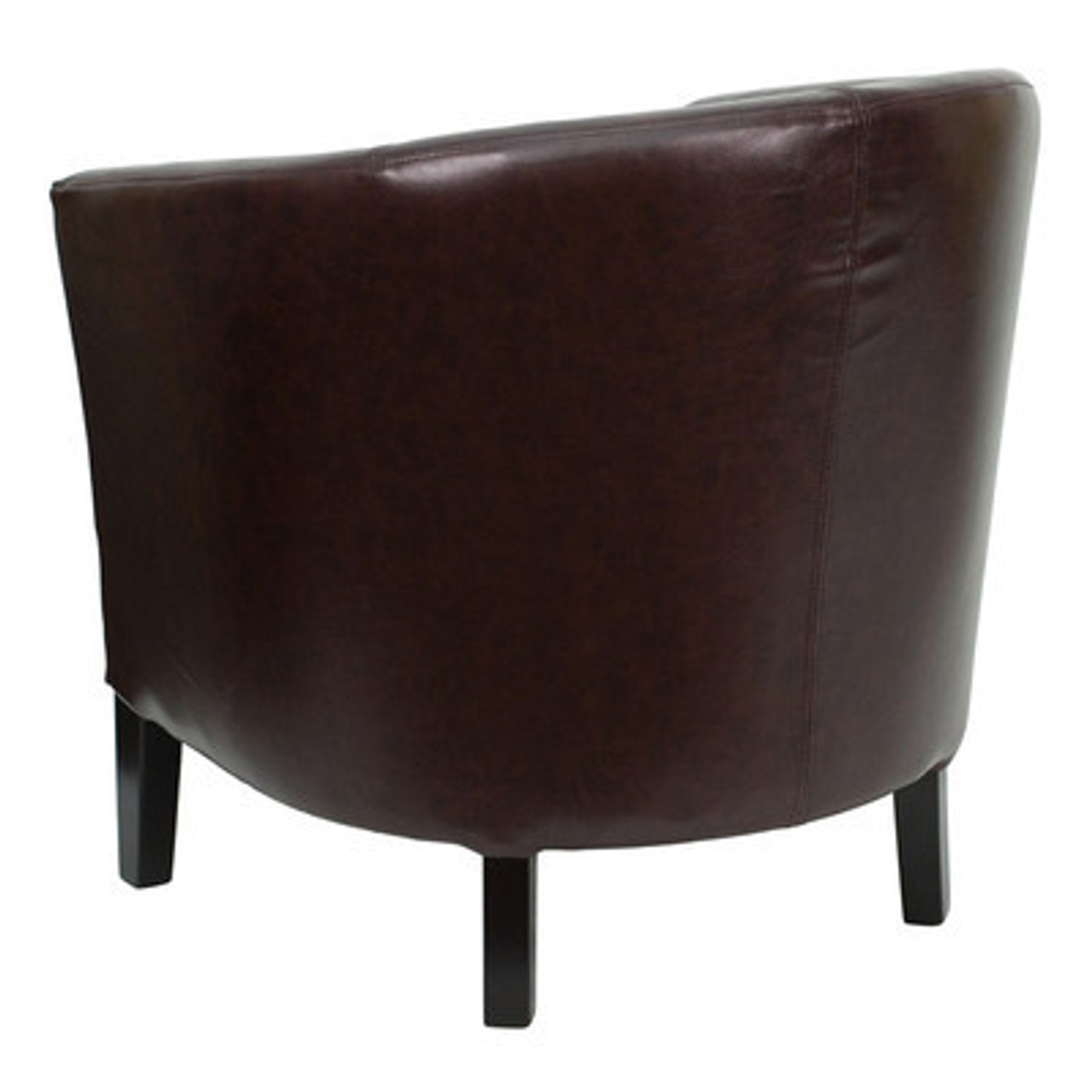 1pc Modern Leather Office Home Reception Guest Chair, FF-0492-12