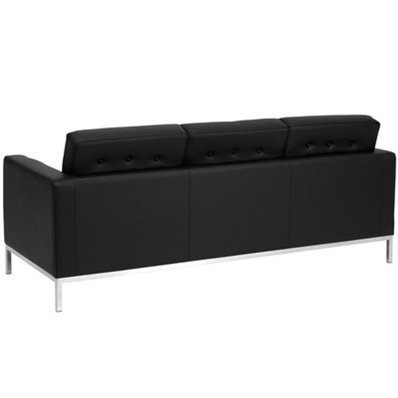 1pc Modern Leather Office Reception Sofa, FF-0441-12