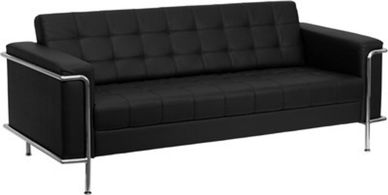 1pc Modern Leather Office Reception Sofa, FF-0453-12