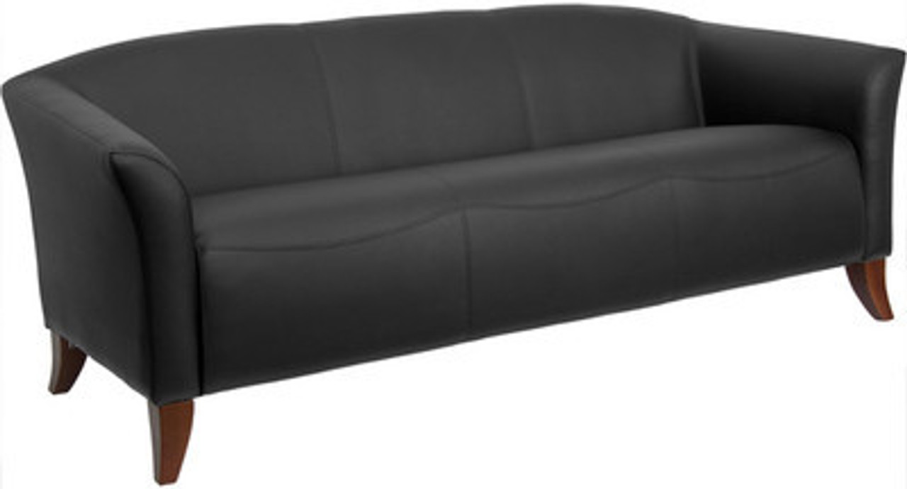 1pc Modern Leatherette Office Reception Sofa, FF-0425-12