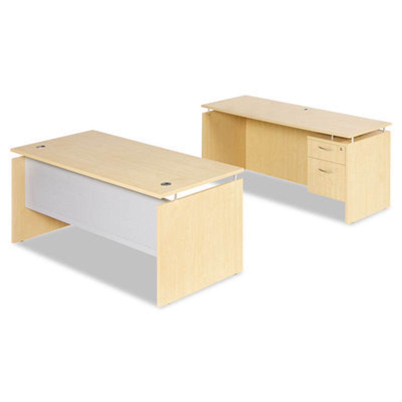 3pc Modern Contemporary Executive Office Desk Set, #AL-SED-D3