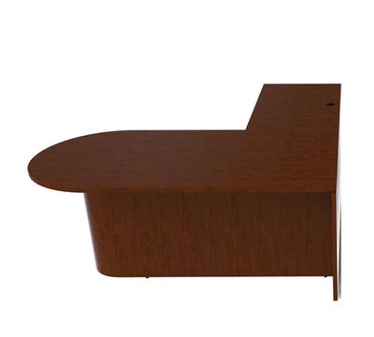 3pc L Shape Modern Contemporary Executive Office Desk Set, #CH-JAD-L4