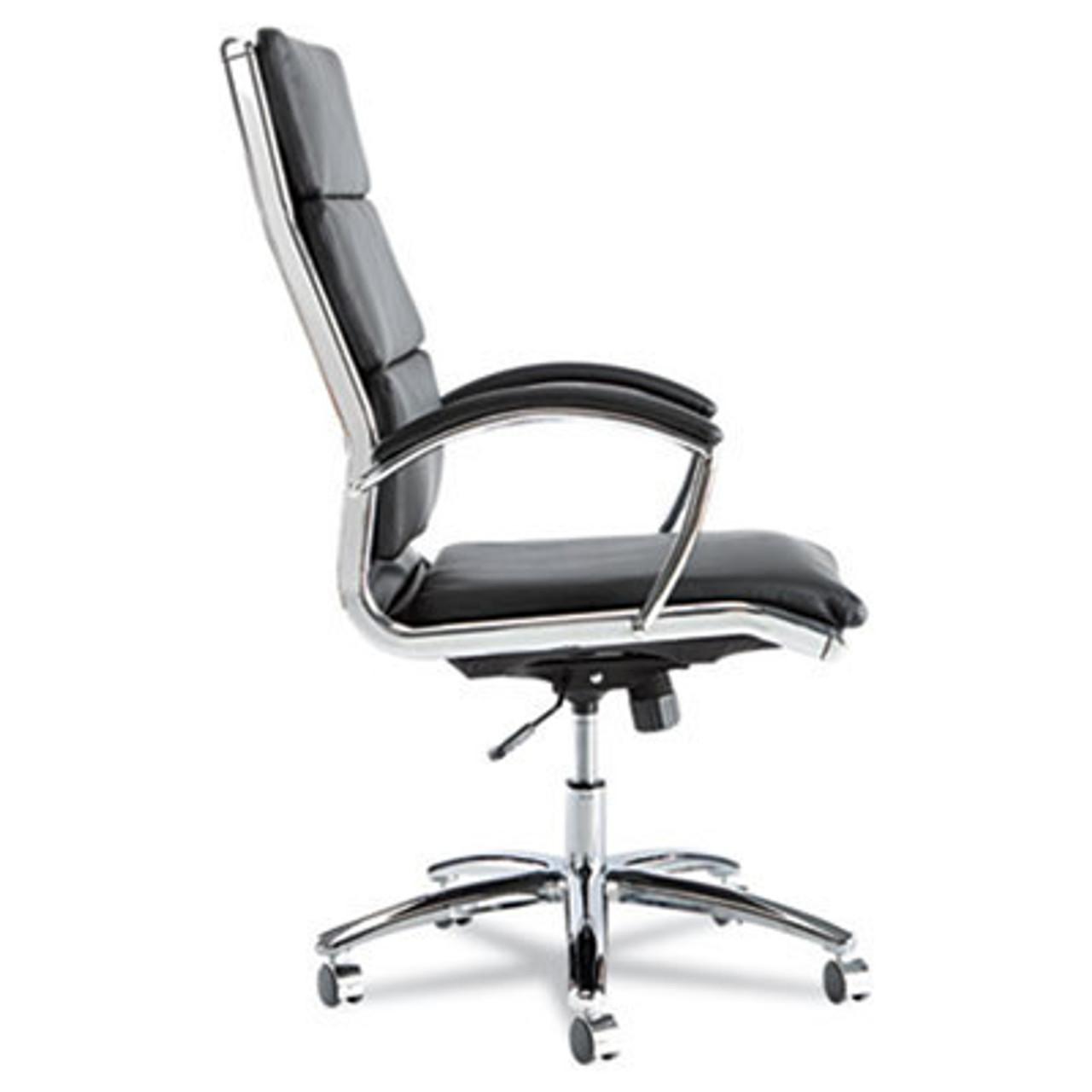 Hi Back Modern Leather Swivel/Tilt Office Chair, #AL-NR4119