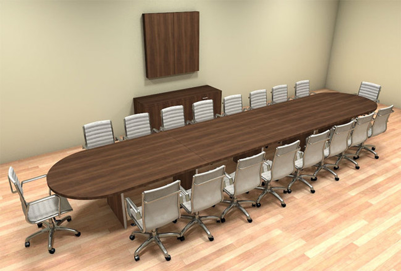 Modern Racetrack Feet Conference Table CHAMBC HO Furniture - 20 foot conference table