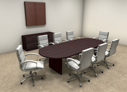 Modern Racetrack 10' Feet Conference Table, #OT-SUL-C11