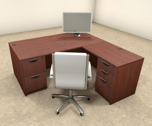 4pc L Shaped Modern Executive Office Desk , #OT-SUL-L6