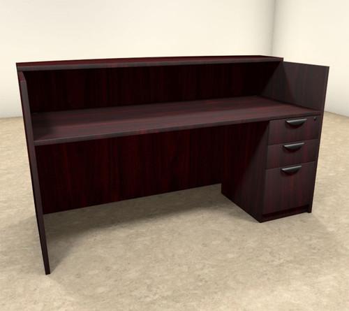 2pc Rectangular Modern Office Reception Desk Set, #OT-SUL-R3