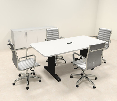 Modern Rectangular 6' Feet Conference Table, #MT-CSD-C1