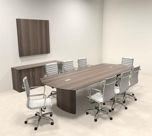 Modern Contemporary 10' Feet Conference Table, #MT-MED-C9