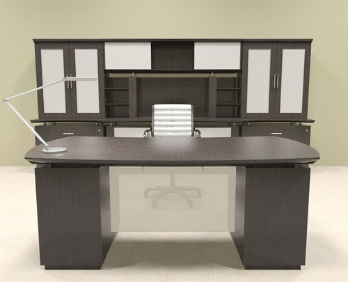 7pc Modern Contemporary Executive Office Desk Set, #MT-STE-D15