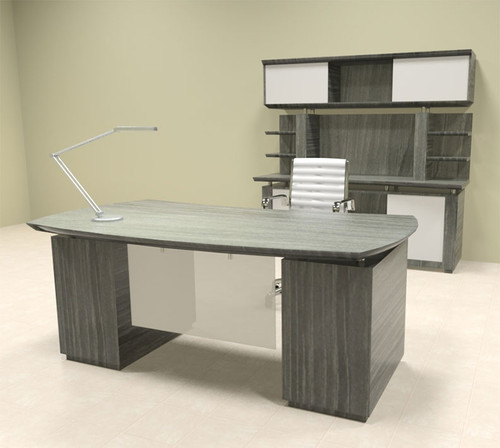 5pc Modern Contemporary Executive Office Desk Set, #MT-STE-D7