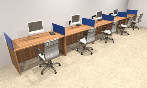 office workstations desks. Five Person Blue Divider Office Workstation Desk Set, #OT-SUL-SPB13 Workstations Desks 2