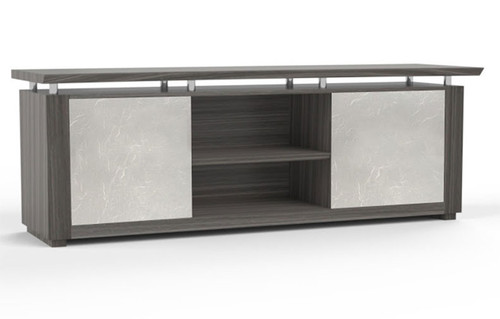 "84"" Low Wall Cabinet with Acrylic Door, #MT-STE-CAB12"