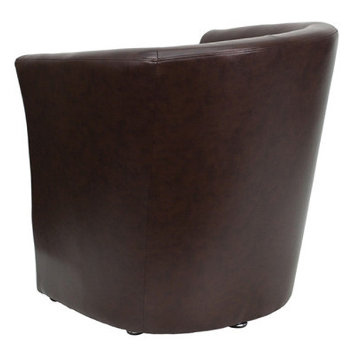 1pc Modern Leather Office Home Reception Guest Chair, FF-0494-12