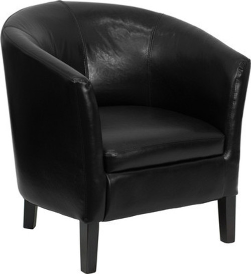 1pc Modern Leather Office Home Reception Guest Chair, FF-0491-12