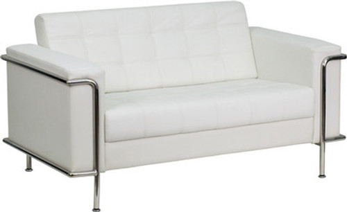 1pc Modern Leather Office Reception Loveseat, FF-0446-12