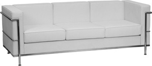 1pc Modern Leather Office Reception Sofa, FF-0462-12