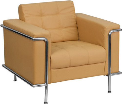 1pc Modern Leather Office Reception Sofa Chair, FF-0448-12