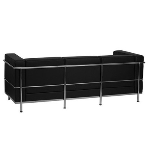 1pc Modern Leather Office Reception Sofa, FF-0465-12