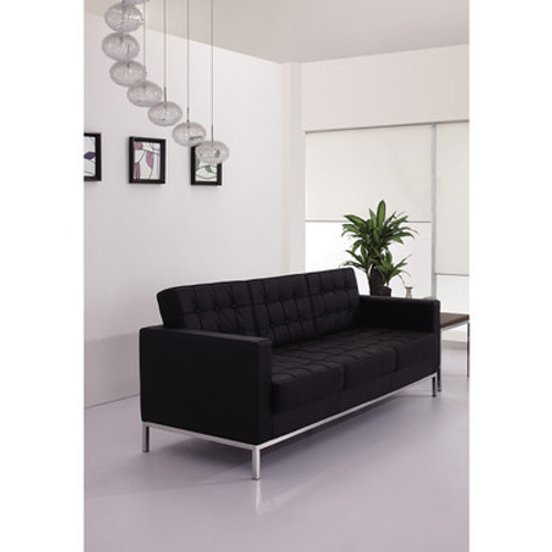 1pc Modern Leather Office Reception Sofa, FF-0441-12