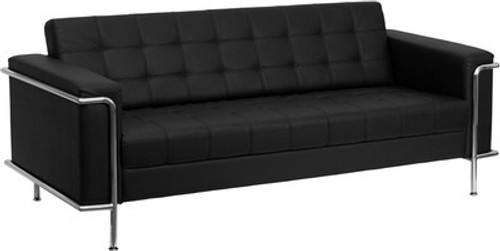 1pc Modern Leather Office Reception Sofa, FF-0453-12
