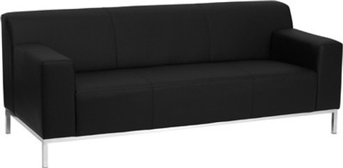 1pc Modern Leather Office Reception Sofa, FF 0444 12