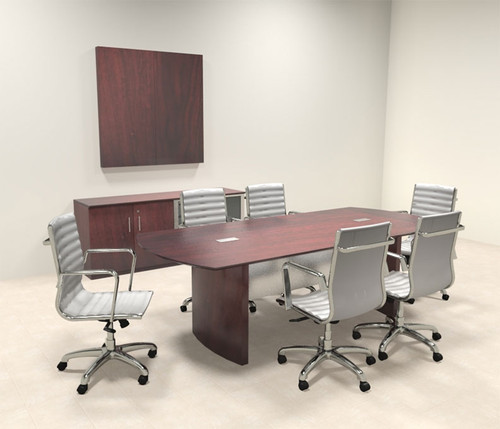 Modern Contemporary 8' Feet Conference Table, #MT-MED-C2