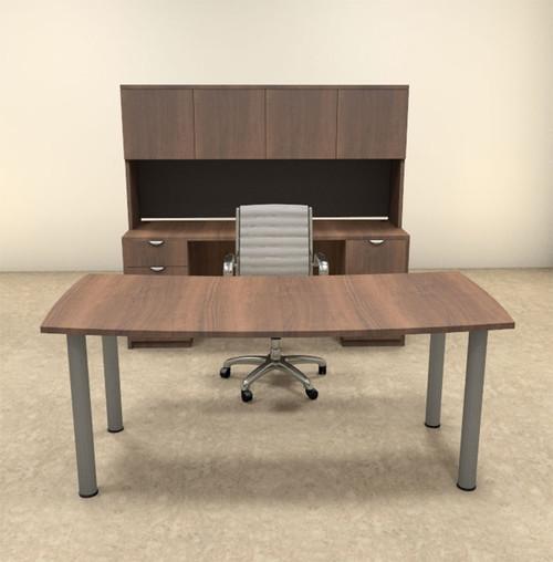 5pc Modern Contemporary Executive Office Desk Set, #OF-CON-D4