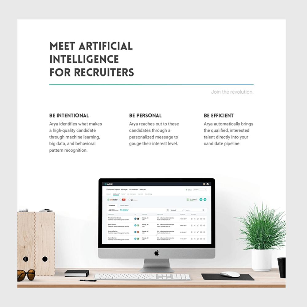 AI Automated Arya Recruiting Software
