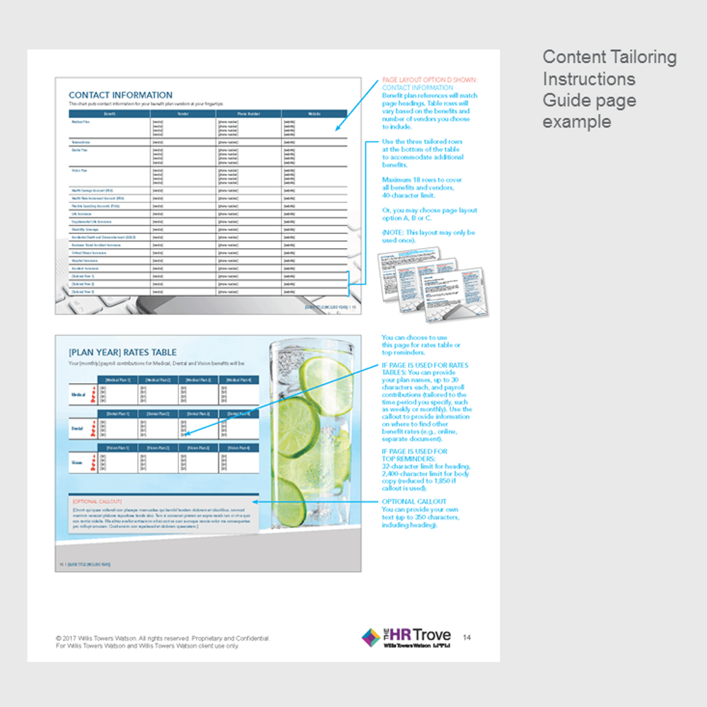 Benefits Enrollment Guide (20-page, Outdoor Vibrant Design)
